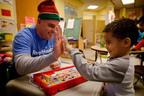 Hasbro's Global Day of Joy generates a high-five!  (PRNewsFoto/Hasbro, Inc.)