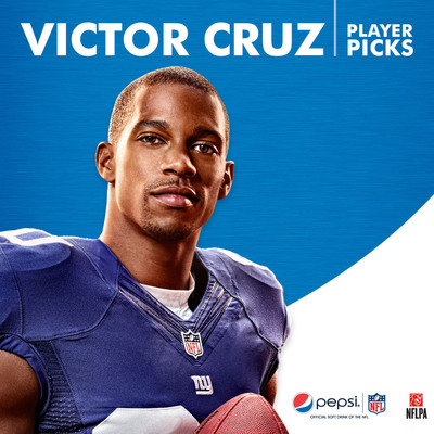 Victor Cruz NFL #FanEnough Player Picks Page