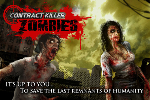 Fight Hordes of Gruesome, Brain Thirsty Zombies in Glu's Latest Action Shooter, Contract Killer: