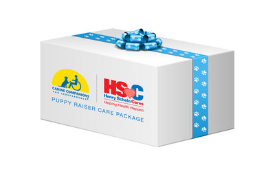 "Henry Schein and Canine Companions for Independence form partnership to support 'puppy raisers' and their veterinarians. Starting this year, each Canine Companions 'puppy raiser' and the veterinarian who cares for the dog will receive a ""Henry Schein Cares-Canine Companions Puppy Raiser Care Package"" stocked with the products essential for raising the puppy during the first 18 months of life. By helping defray the cost the volunteer incurs in raising the puppy, Henry Schein and Canine Companions are working together to improve the lives of those with physical disabilities."
