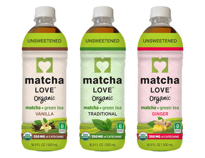 Matcha LOVE Organic Teas- Matcha Goodness in a Bottle