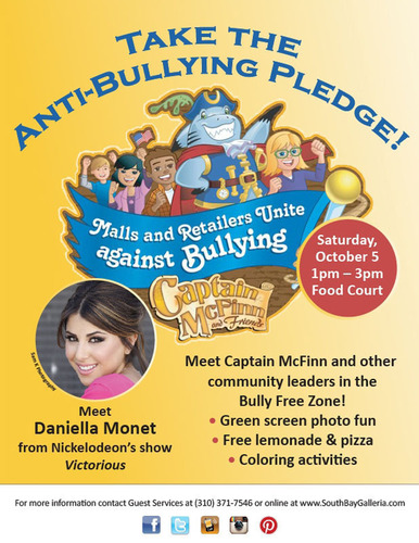 Tween Icon Daniella Monet Joins South Bay Galleria To End Bullying In The South Bay
