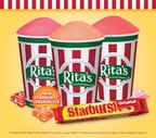 Rita's Italian Ice introduces STARBURST(R) Orange Italian Ice!.  (PRNewsFoto/Rita's Italian Ice)