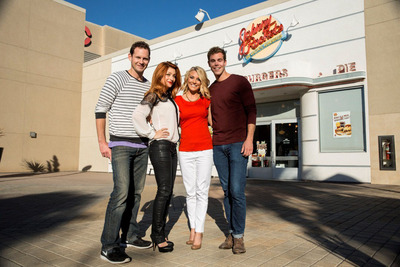 Johnny Rockets applicants on 'Inside Job'.  (PRNewsFoto/Johnny Rockets)