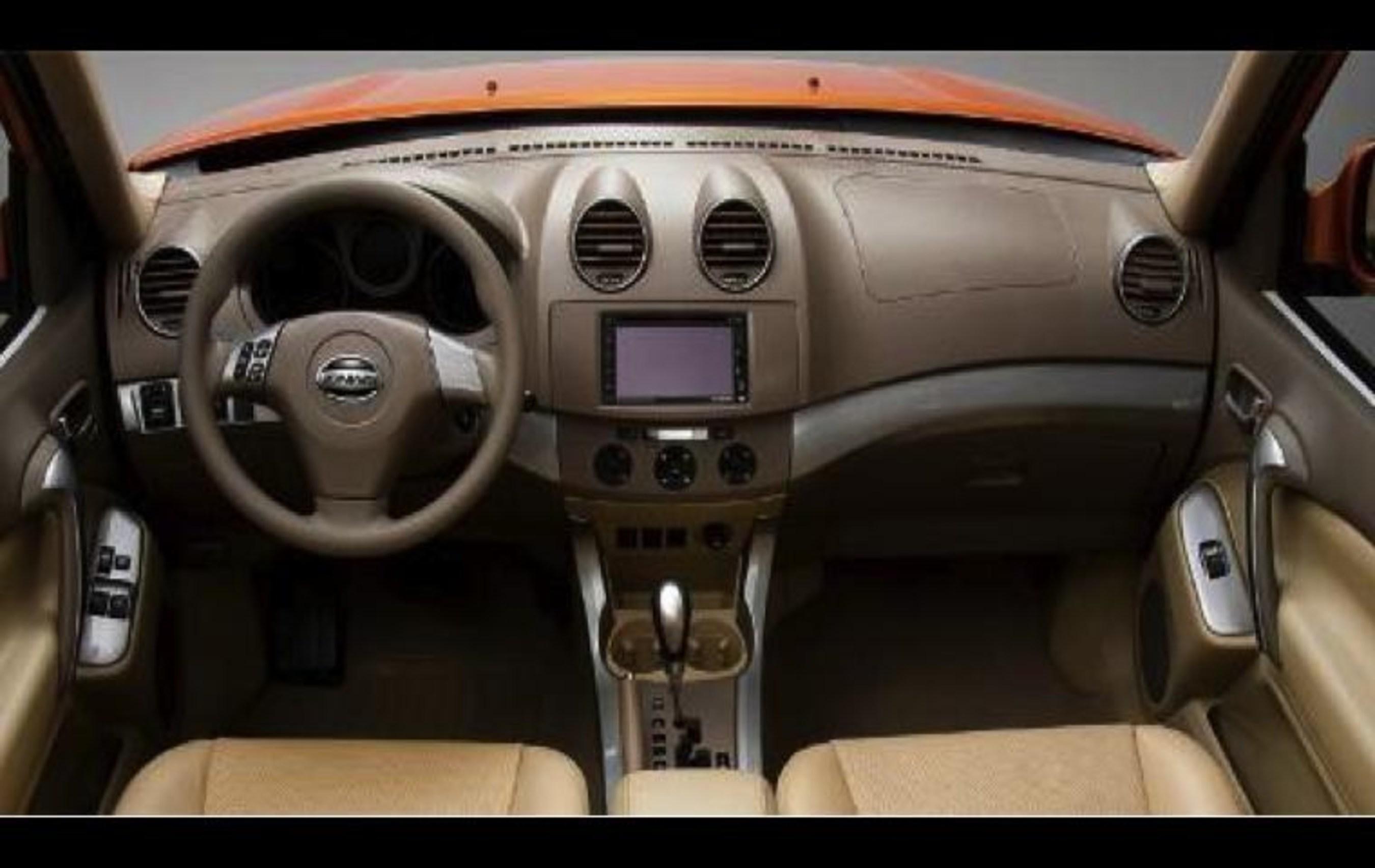 ZAP-Jonway new 3-Door EV Interior