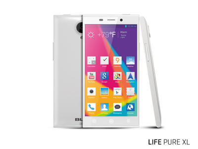 BLU Products LIFE PURE XL (PRNewsFoto/BLU Products)