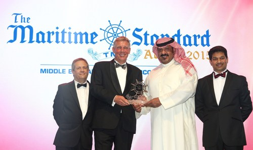 Winner of The Maritime Standard Personality of the Year Award: Sheikh Talal Al-Khaled Al-Sabah, Chief Executive  ...
