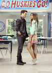 Zendaya (R) stars with Spencer Boldman (L) in Zapped from MarVista Digital Entertainment (PRNewsFoto/MarVista Entertainment)