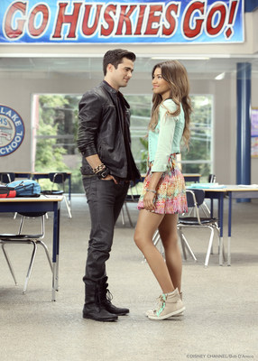 Zendaya (R) stars with Spencer Boldman (L) in Zapped from MarVista Digital Entertainment