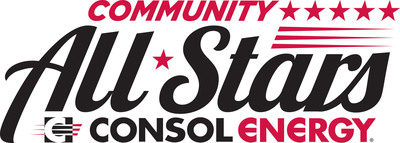 CONSOL Energy's Community All Stars program is a community-focused program designed to showcase non-profit organizations and everyday citizens that are making a difference in communities throughout Pennsylvania and West Virginia. These organizations will be recognized as Community All Stars during each Pittsburgh Penguins home game at CONSOL Energy Center throughout the hockey season. The program honors a variety of critical support services. (PRNewsFoto/CONSOL Energy Inc.) (PRNewsFoto/CONSOL ENERGY INC.)