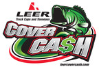 With LEER Cover Cash, participating anglers who own or purchase a LEER cap or tonneau can earn cash prizes by enrolling in the program at no cost.