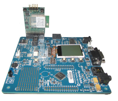 RL78 Renesas Demo Kit with GainSpan Wi-Fi Adapter board.  (PRNewsFoto/GainSpan Corporation)