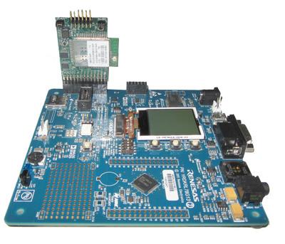 RL78 Renesas Demo Kit with GainSpan Wi-Fi Adapter board.  (PRNewsFoto/GainSpan Corporation)