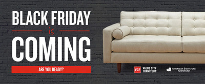 Thanks to Easy Pass, Black Friday Shopping at Value City Furniture and American Signature Furniture is a breeze!    (PRNewsFoto/American Signature, Inc.)
