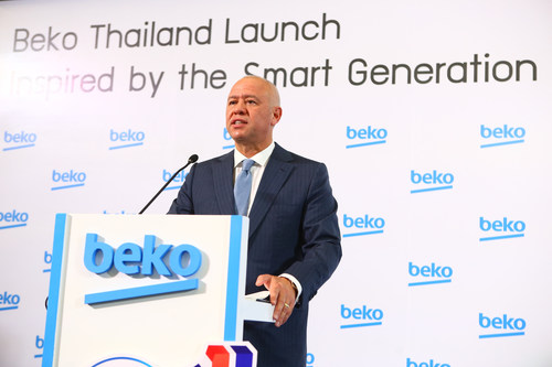 Mr. Levent Cakiroglu, global CEO of Arcelik A.S., the owner of the Beko brand (PRNewsFoto/Beko Thailand)