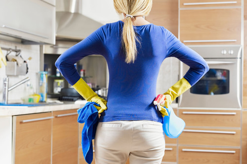 Clean appliances perform more efficiently, produce better-tasting food and beverages, and operate more safely because dirt, oil, and dust are prevented from building up on or underneath kitchen surfaces. (PRNewsFoto/COIT Cleaning and Restoration) ...