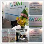 AVOXI at ITB Asia 2012. (PRNewsFoto/AVOXI)