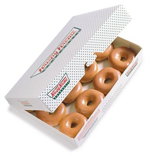 The one-of-a-kind Krispy Kreme Original Glazed(R) doughnut can be found in 21 countries.  (PRNewsFoto/Krispy ...