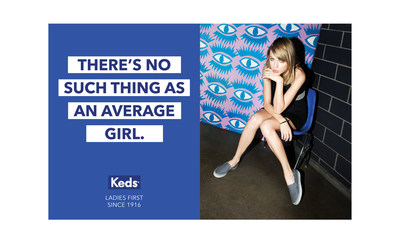 THERE'S NO SUCH THING AS AN AVERAGE GIRL.