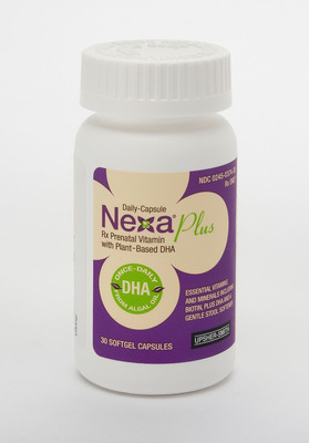 Nexa(R) Plus Rx Prenatal Vitamin.  (PRNewsFoto/Upsher-Smith Laboratories, Inc.)