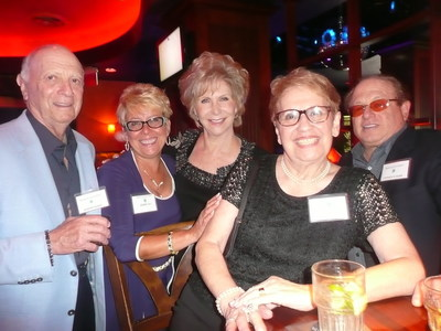 Participants of Victory Living Programs 2015 Black and Blue Dine Around event enjoy an evening of dinner and cocktails at the Blue Martini and Capital Grille in Fort Lauderdale, Florida.