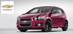 The 2014 Chevy Sonic is available now at Broadway Automotive in Green Bay, WI. (PRNewsFoto/Broadway Automotive)