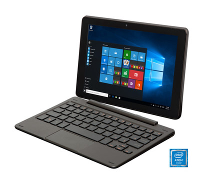 E FUN's Nextbook Flexx 9 Windows tablet combines the productivity of a laptop with the mobile ease of a tablet, it provides a seamless balance between work and entertainment