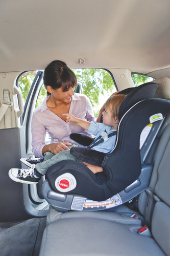 Newell Rubbermaid's Graco Brand Launches Industry First All-in-One Car Seat with Stay in Car Base.  (PRNewsFoto/Newell Rubbermaid)
