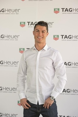 TAG Heuer Signs Soccer Icon Cristiano Ronaldo as Brand Ambassador (PRNewsFoto/TAG Heuer)