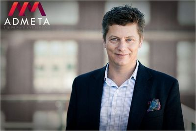Ola Tiverman, Chief Executive Officer, Admeta (PRNewsFoto/Admeta)