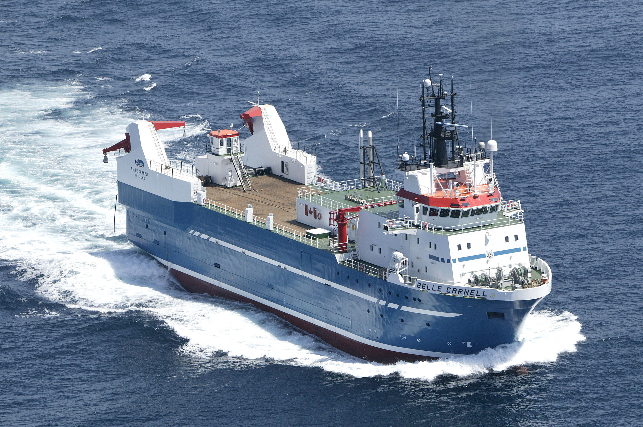 Clearwater welcomes the Belle Carnell, the world's most technologically advanced shellfish harvester, to ...