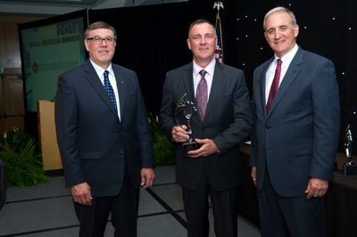 Lockheed Martin recognition award 2014 ceremony (PRNewsFoto/Mountain Secure Systems)