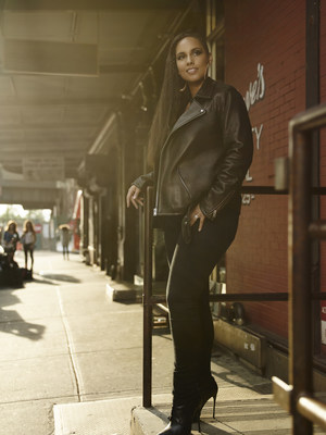 Alicia Keys partners with the Levi's brand to launch all new women's denim collection