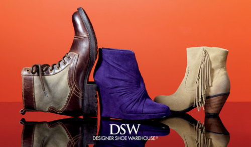DSW boasts a breathtaking assortment of designer shoes at everyday value prices.  (PRNewsFoto/DSW Inc.)