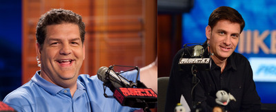 "ESPN Radio's ""Mike & Mike"" Encourage Fans to Snack on Almonds.  (PRNewsFoto/Almond Board of California)"