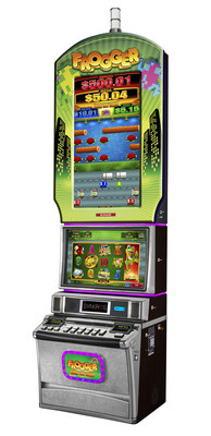 Konami Gaming, Inc. is set to debut Frogger themed slot machines this fall at the Global Gaming Expo in Las Vegas