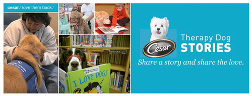 CESAR® Canine Cuisine Launches 'Share a Story and Share the Love' Campaign Spotlighting Therapy