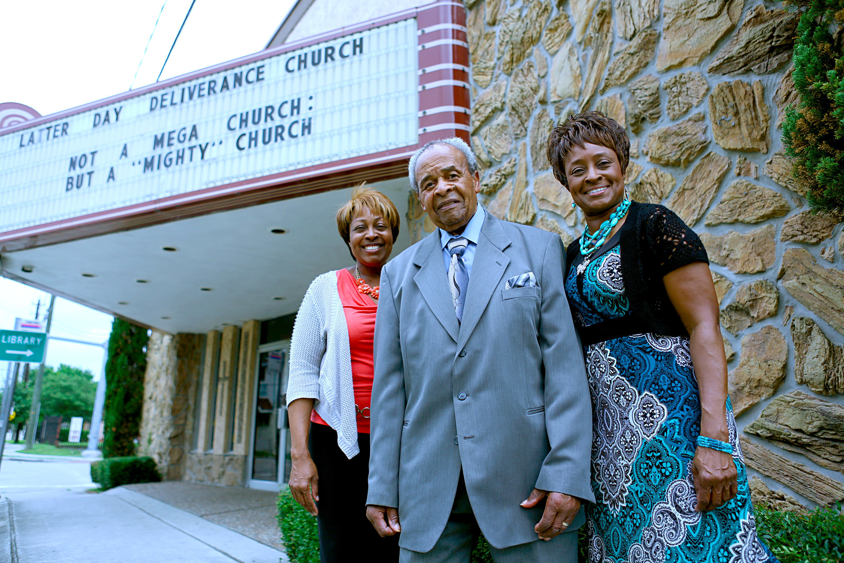 Bishop Kossie and His Daughters