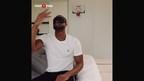 Famous basketball player Dwyane Wade takes on PokerStars #raiseit challenge (PRNewsFoto/PokerStars)