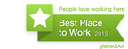 Glassdoor Employees' Choice Award - Best Place to Work in 2015