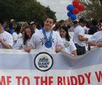 Talor Milstein of Southern Enterprises participates in The DSG Buddy Walk.  (PRNewsFoto/Southern Enterprises, Inc.)
