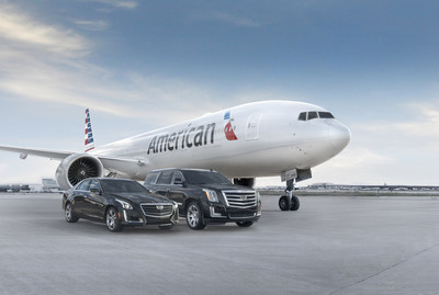 American Airlines, Cadillac partner to offer exclusive benefits to customers (PRNewsFoto/American Airlines)