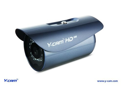Y-cam Solutions Ltd introduce a new addition to their HD camera range with the highly anticipated release of the Y-cam Bullet HD 1080: a feature-rich security camera that encompasses award winning Y-cam features updated with 1080p high definition image quality, exclusive CableConnectTM installation, intuitive user interface and ONVIF compatibility.