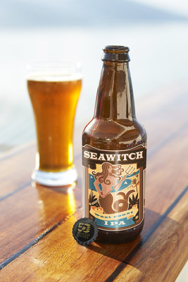 "Princess Cruises' new ""Seawitch"" craft beer is a celebratory 50th anniversary IPA debuting aboard Regal Princess in November. (PRNewsFoto/Princess Cruises)"