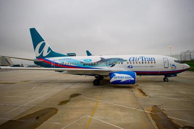AirTran Airways and Georgia Aquarium Unveil Dolphin 1