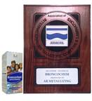 2015 AIMCAL Award Winner - Bronochem presented to AR Metallizing