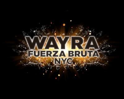 Fuerza Bruta WAYRA NYC.  (PRNewsFoto/S2BN Entertainment)