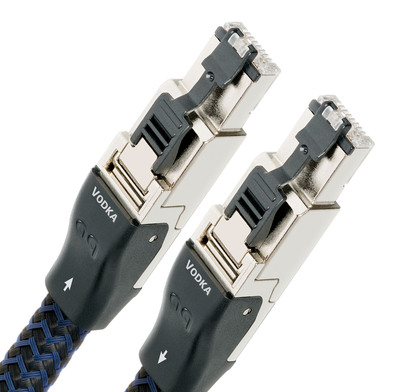 Ethernet to the extreme- AudioQuest's RJ/E Vodka cable...  (PRNewsFoto/AudioQuest)