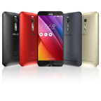 ASUS ZenFone 2 is available in black, red, gray and silver.