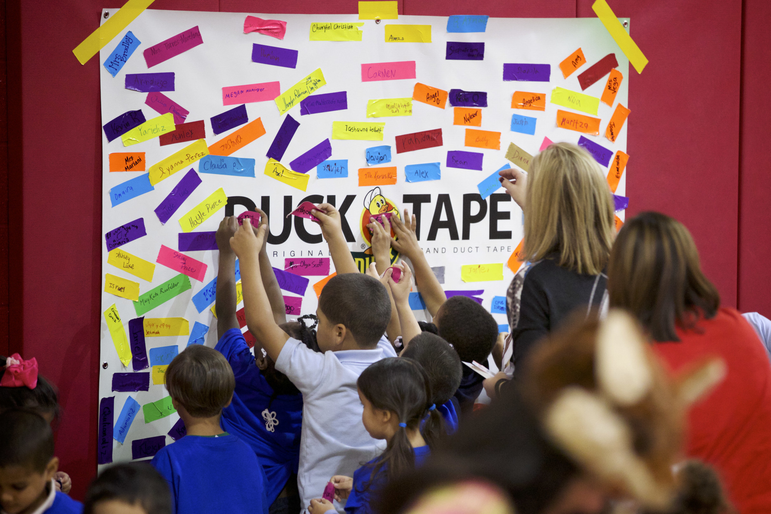 Duck(R) brand and Project Love Teach Kids to Stick Together(TM) Against Bullying